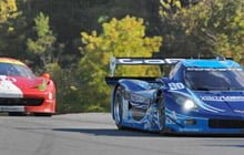 Race cars at Lime Rock Park