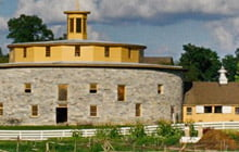 Image of building in Hancock Shaker Village