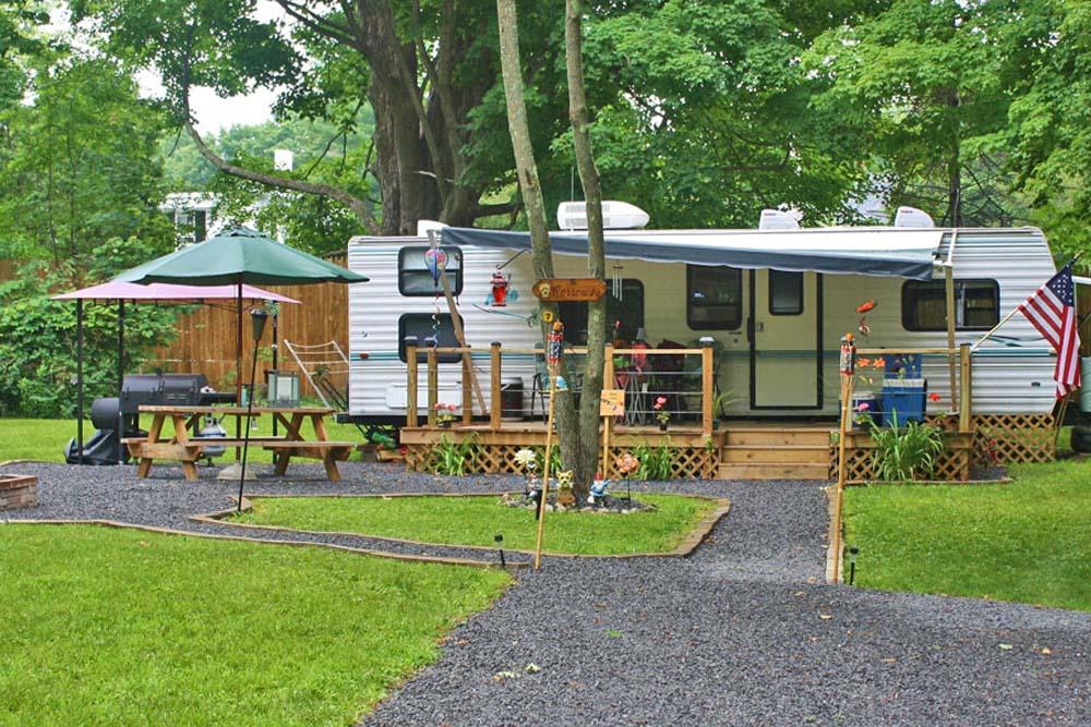 Rv Amp Tent Sites Copake Camping Resort